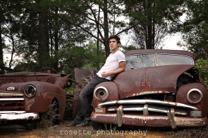 Vintage Car Graveyard Shoot